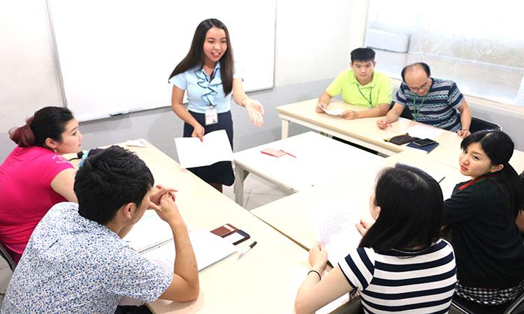 Các khóa học anh ngữ tại trường Philinter